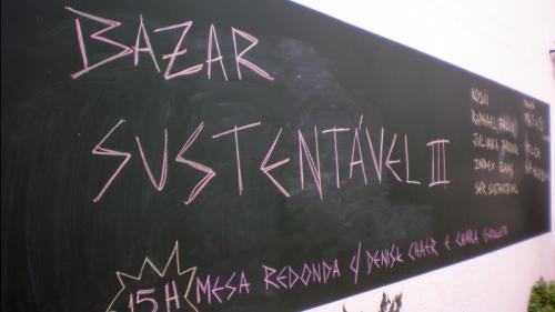 Bazar Sustentável - entrada 1